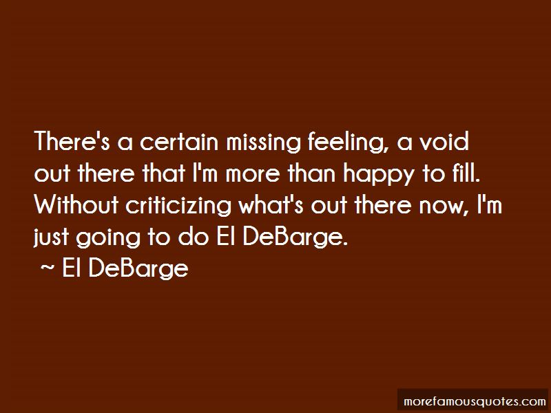 Quotes About Feeling A Void