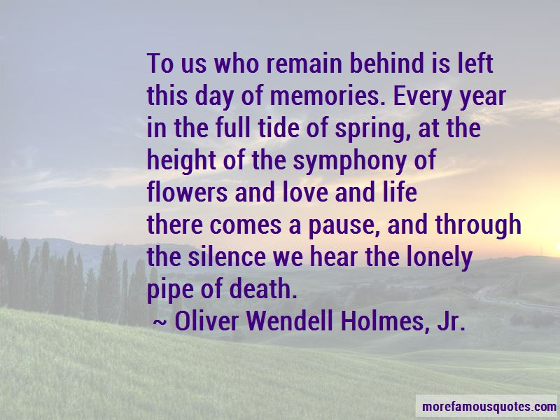 Quotes About Flowers And Memories