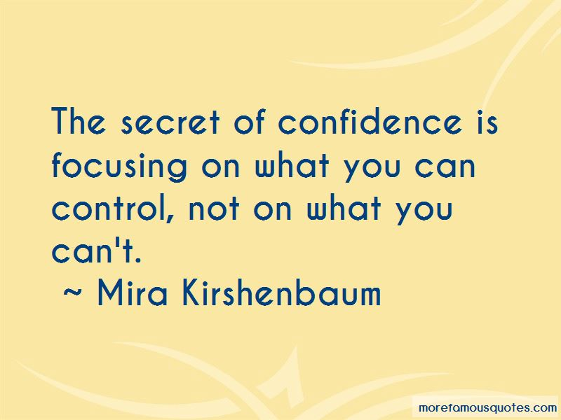 Quotes About Focusing On What You Can Control