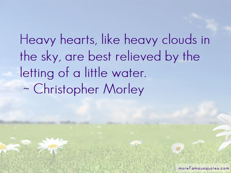 Quotes About Heavy Clouds