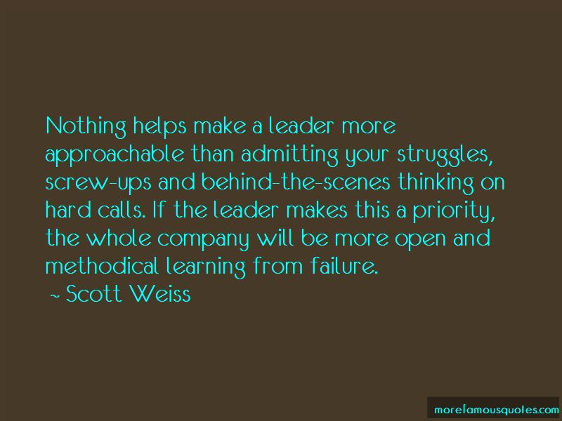 Quotes About Learning From Failure