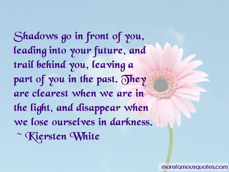 Leaving The Past Behind Us Quotes Pictures 4