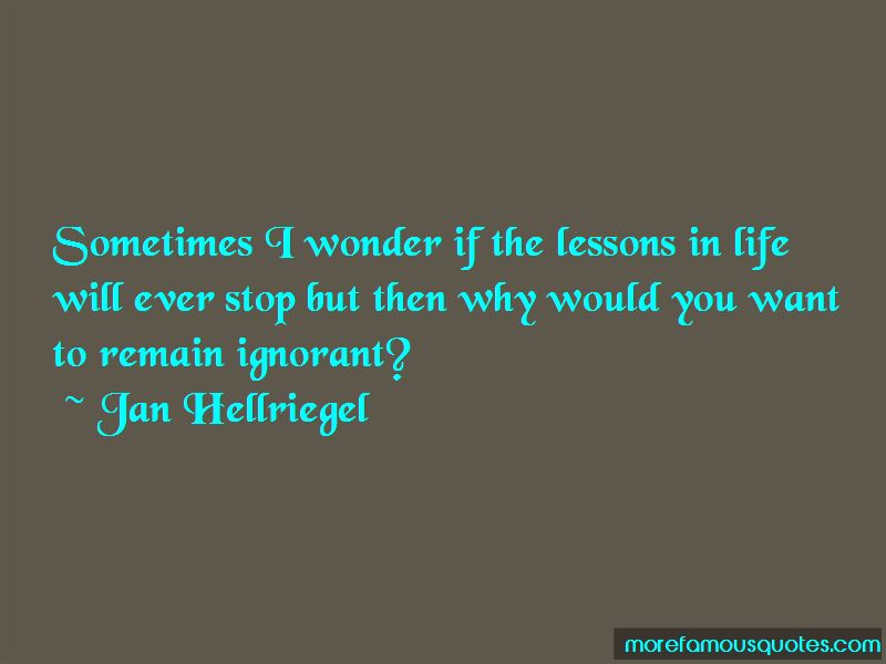 Quotes About Lessons In Life