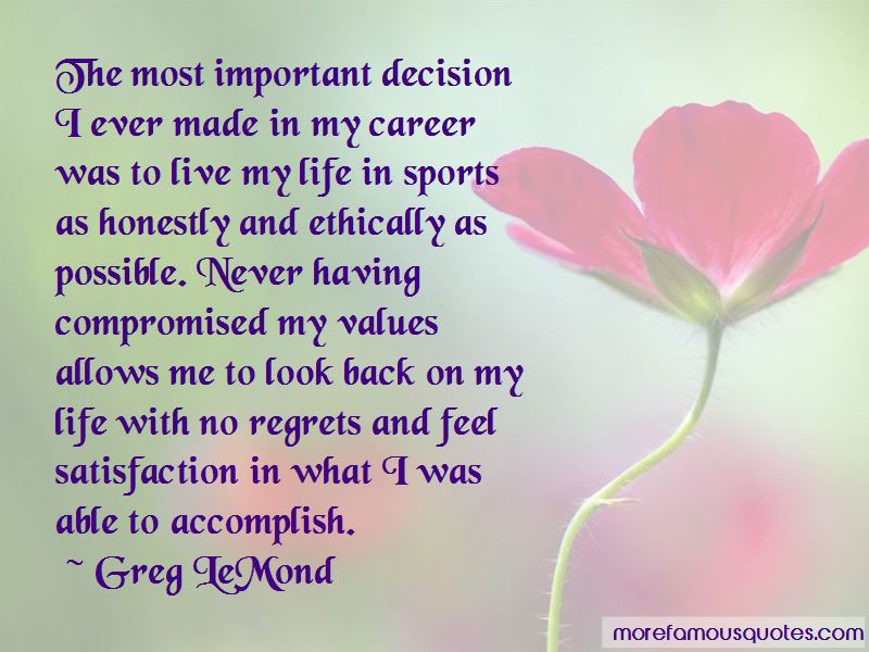 Quotes About Live Life With No Regrets