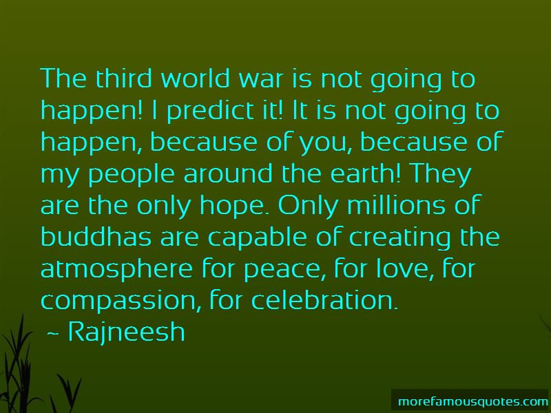Quotes About Love And Peace In The World