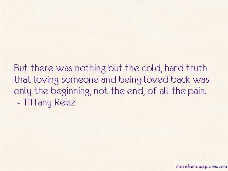 Quotes About Loving Someone But Not Being Loved Back