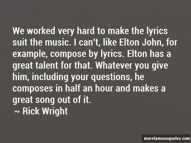 Quotes About Lyrics