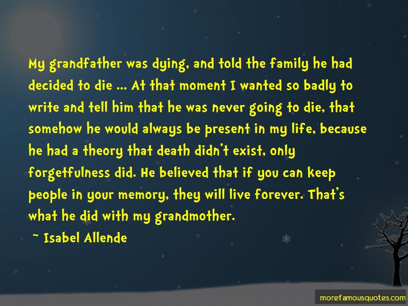 Quotes About My Grandfather Dying: top 3 My Grandfather ...