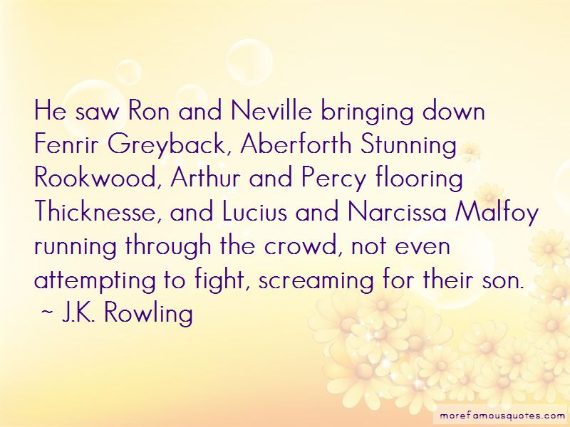Quotes About Narcissa Malfoy