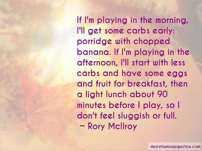 Quotes About Porridge