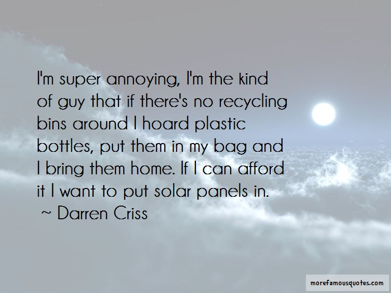 Quotes About Recycling Plastic Bottles