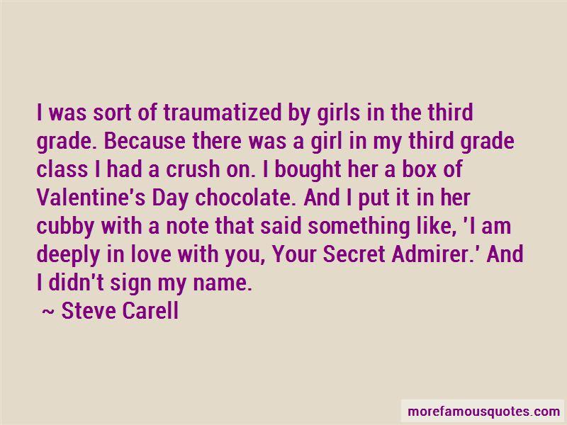 Quotes About Secret Admirer: top 3 Secret Admirer quotes ...