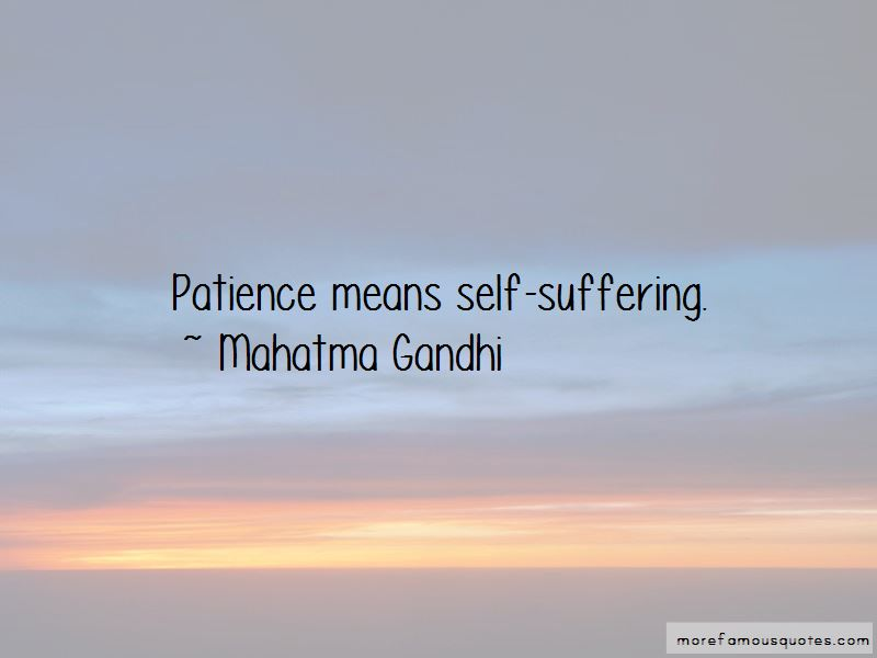 Self Suffering Quotes Pictures 4