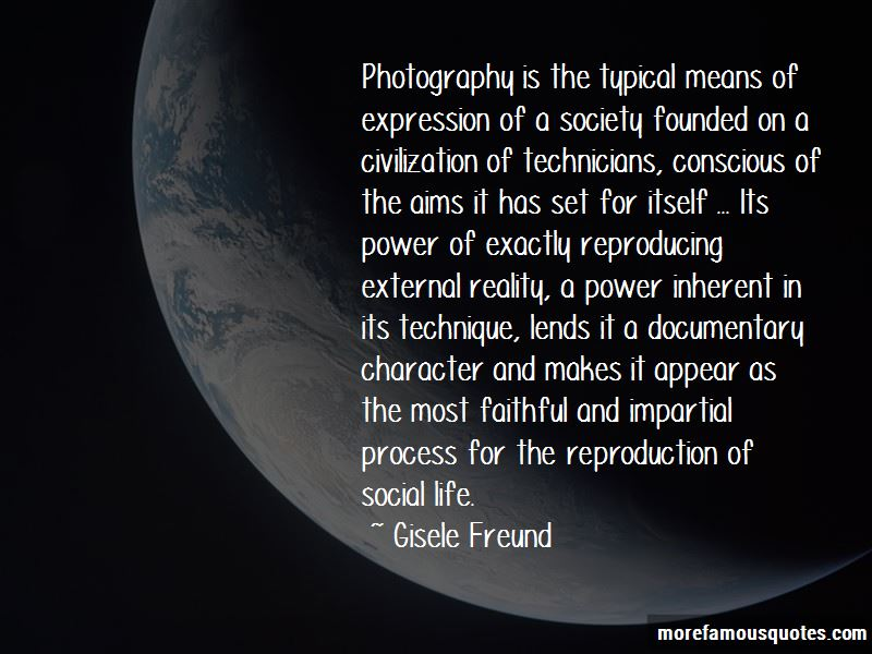 Quotes About Social Documentary Photography
