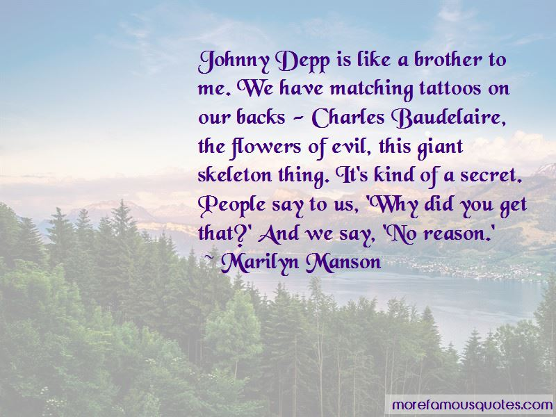 Quotes About Tattoos Johnny Depp