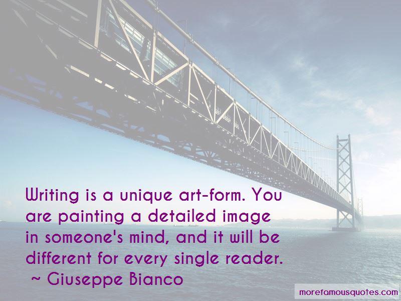 Quotes About Unique Art