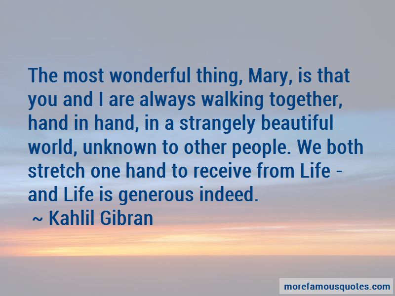 Quotes About Walking Together