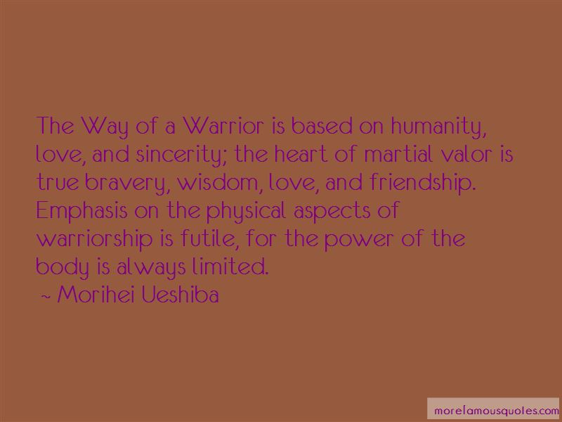 Quotes About Warrior Bravery