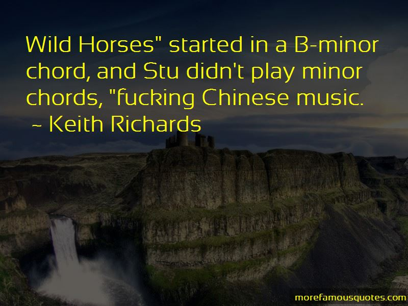 Quotes About Wild Horses