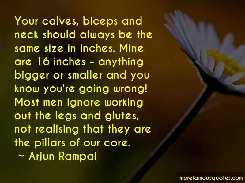 Quotes About Working Out Legs