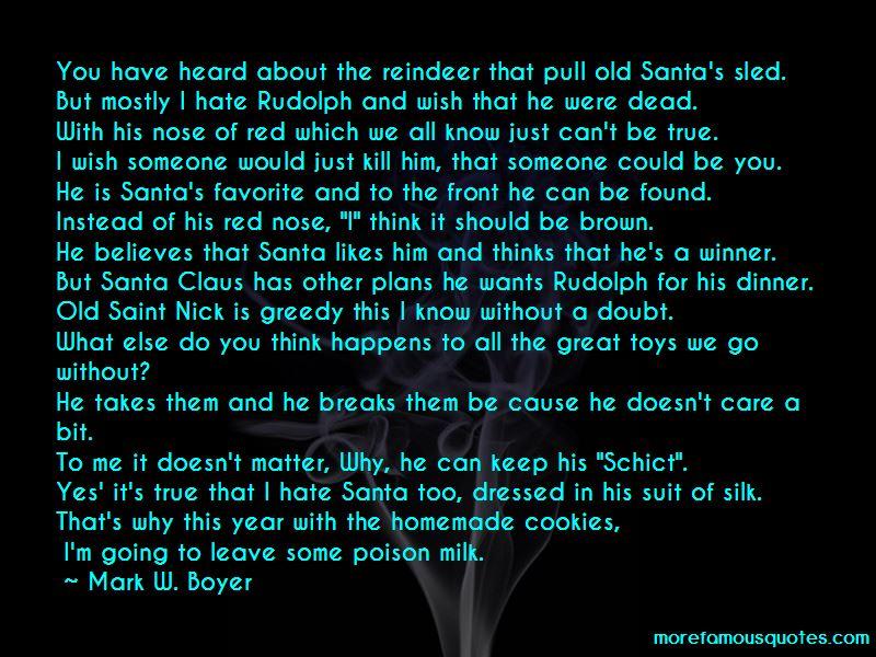 Santa Reindeer Quotes