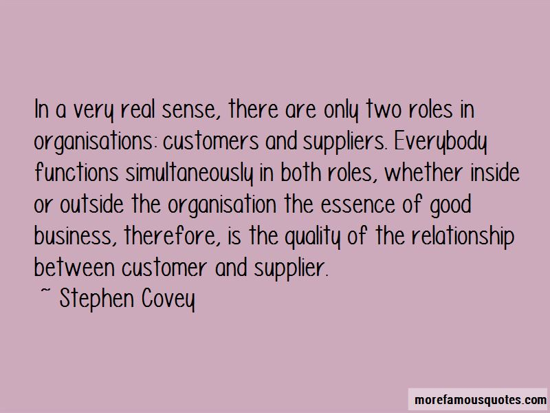 Supplier Relationship Quotes Pictures 2