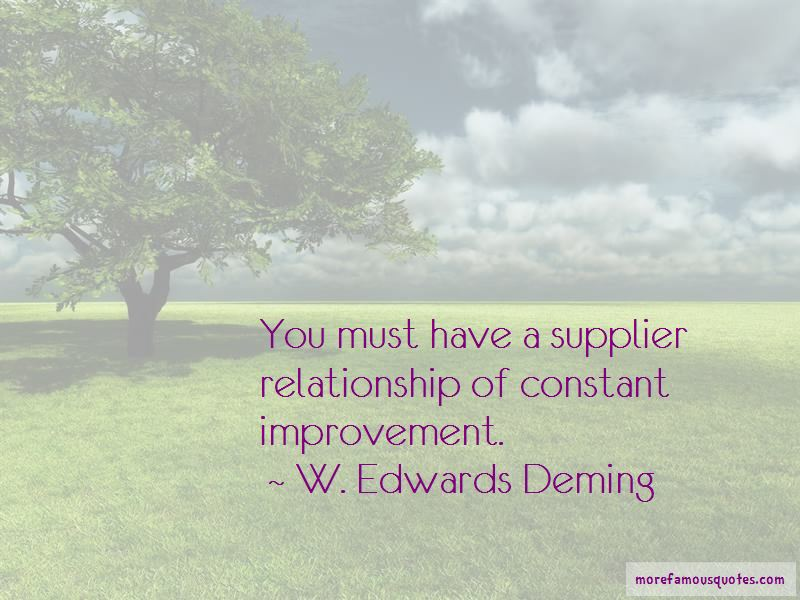 Supplier Relationship Quotes
