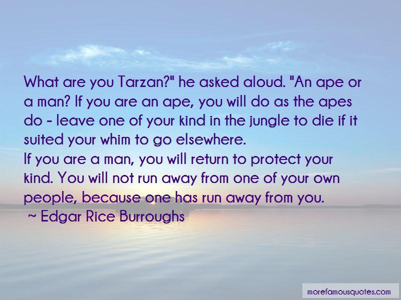 Tarzan The Ape Man Quotes