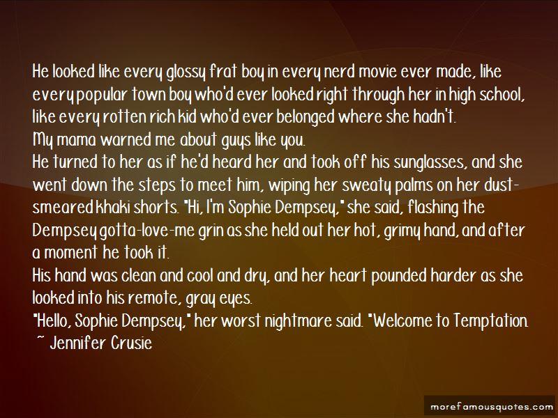 Temptation Movie Quotes