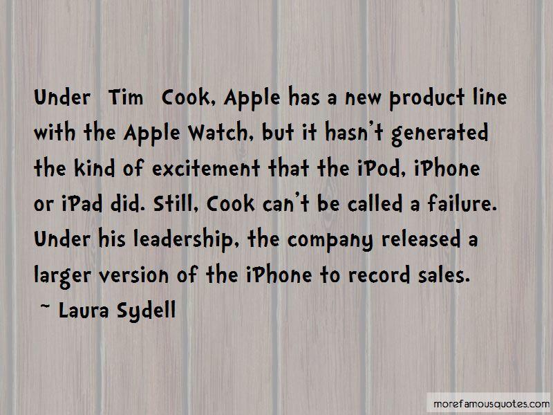 Tim Cook Iphone Quotes