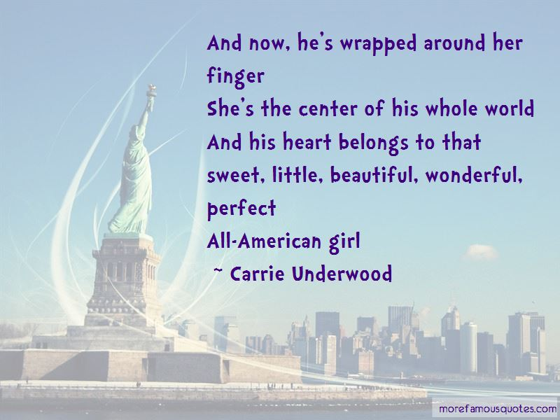 Wrapped Around Finger Quotes