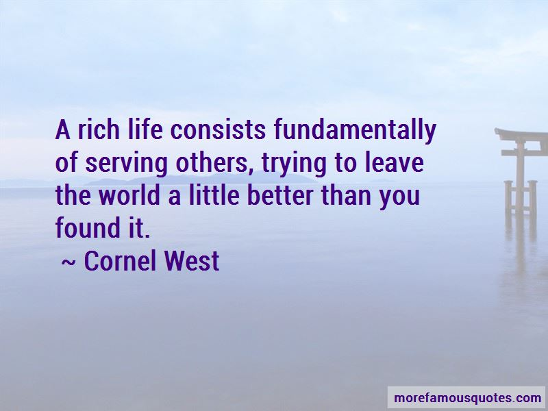 A Rich Life Quotes