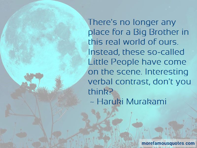 Big Little Brother Quotes