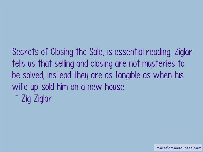 Closing The Sale Quotes