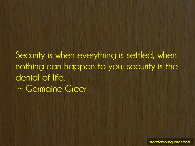 Everything Is Settled Quotes