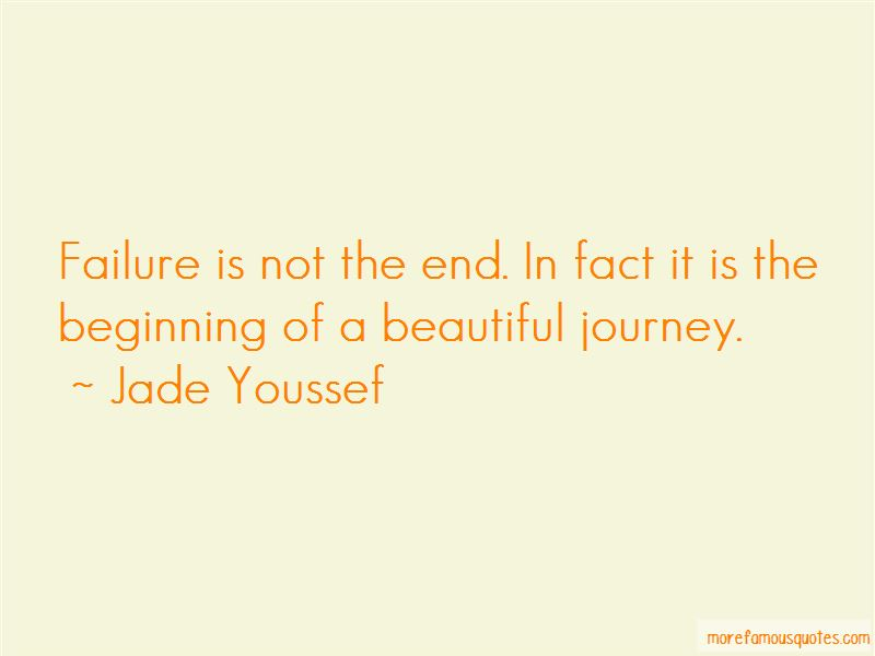 Failure Is Not The End Quotes