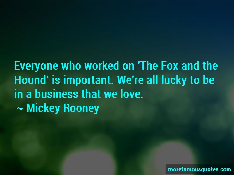 Fox Hound Quotes Pictures 2