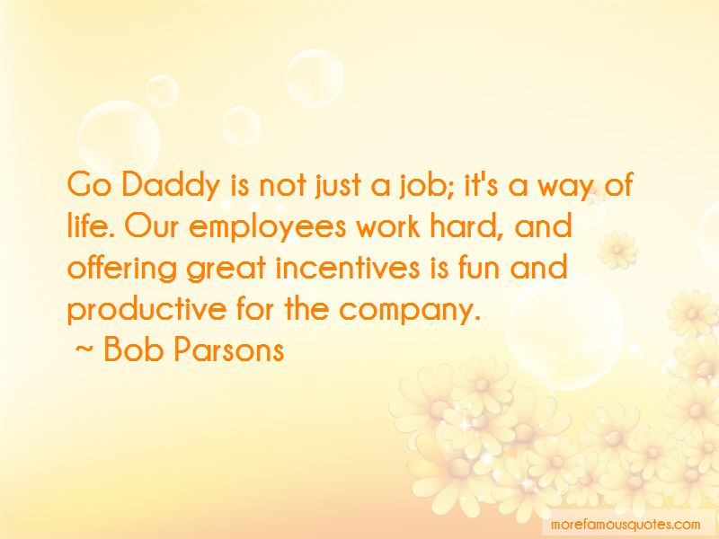 Go Daddy Quotes