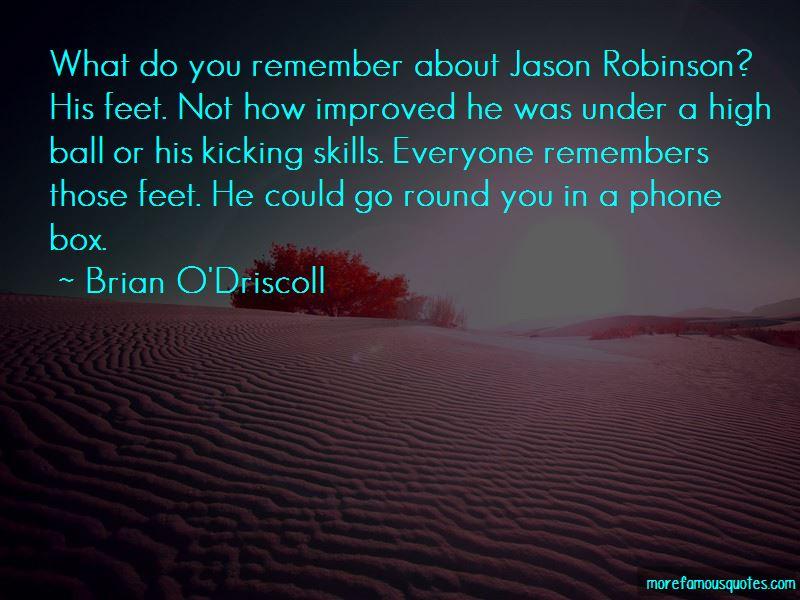 Jason Robinson Quotes