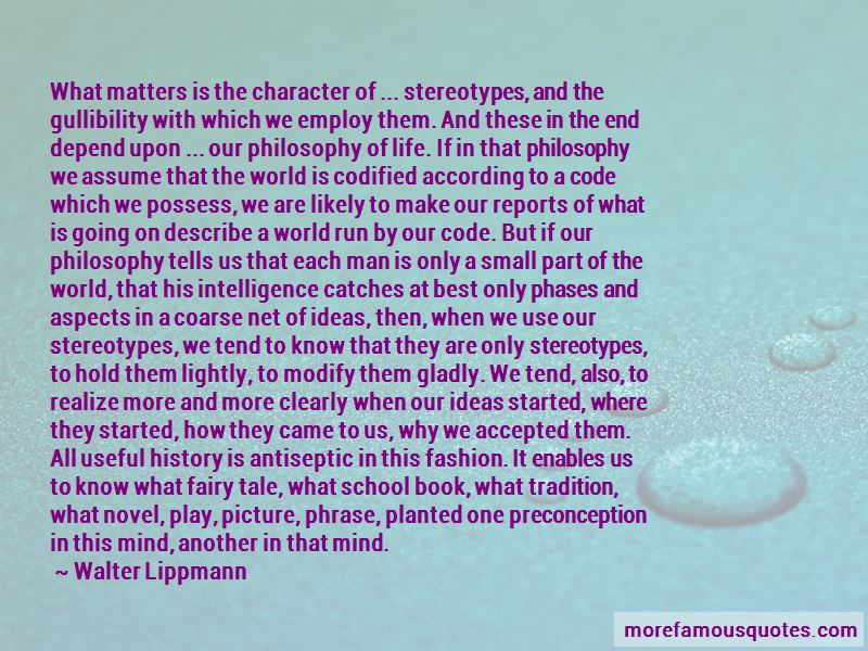 Preconception Quotes
