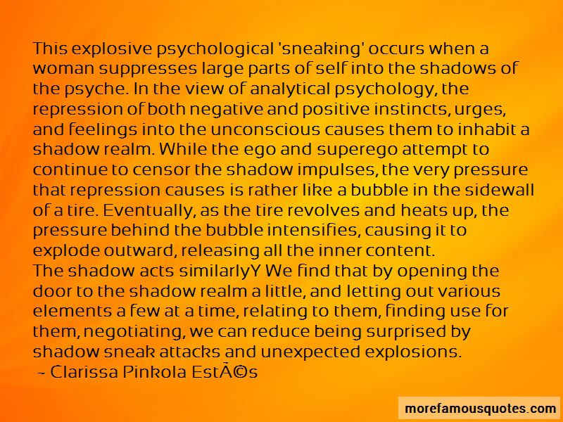 Psychological Repression Quotes
