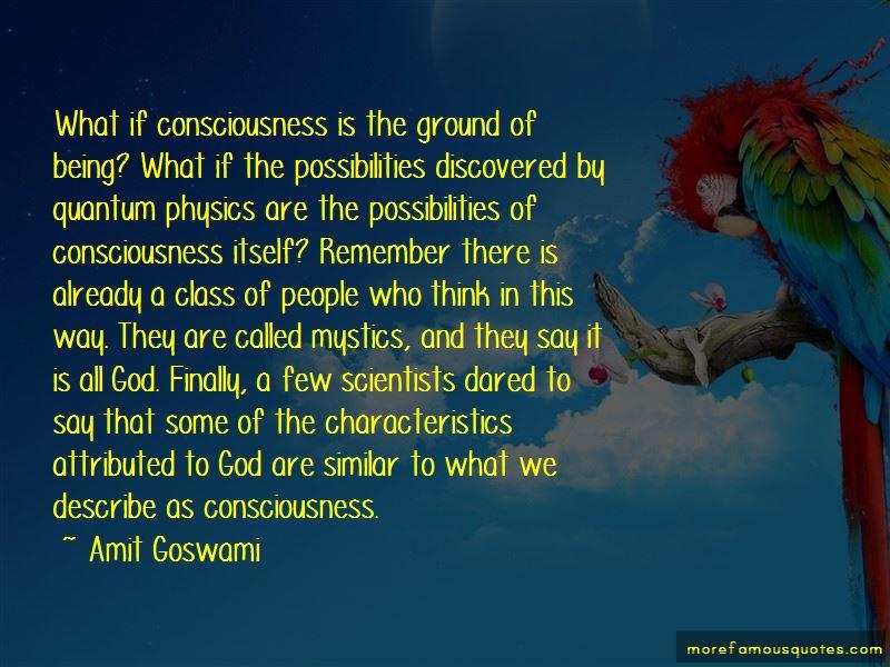 Quantum Physics Consciousness Quotes Pictures 2