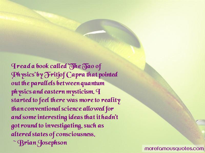 Quantum Physics Consciousness Quotes