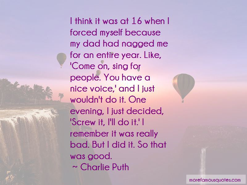 Quotes About A Nice Evening