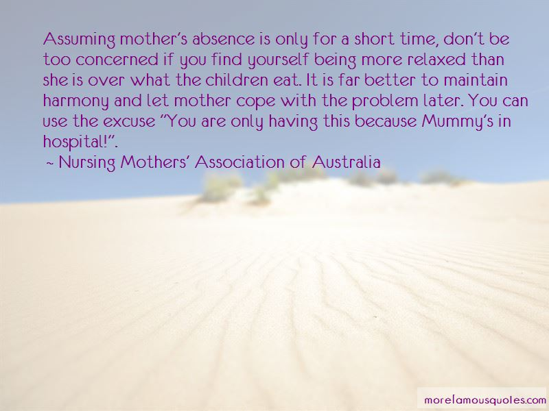 Quotes About Absence Of Mother