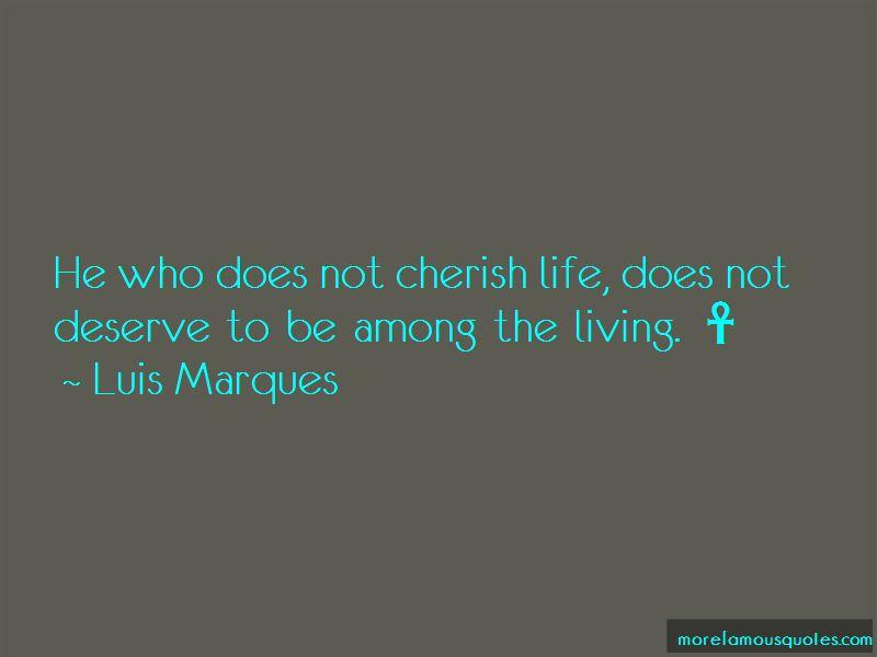 Cherish Life Quotes Pictures 3