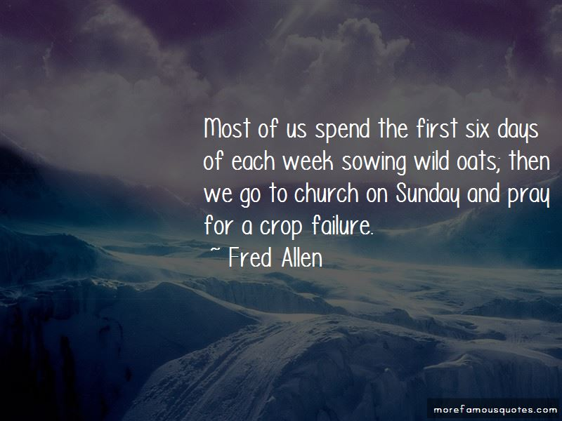 Quotes About Church On Sunday