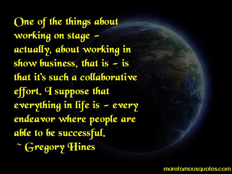 Quotes About Collaborative Effort