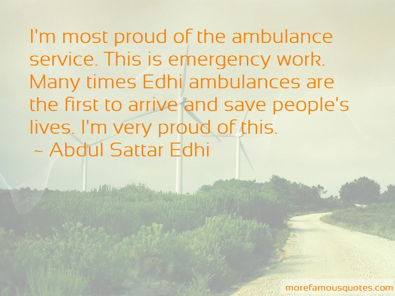 Quotes About Edhi