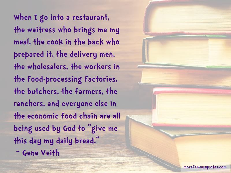Quotes About Food Processing